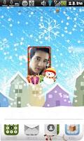 Screenshot of Christmas Frame Widget Fourth