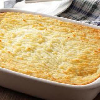 Mashed Potatoes au Gratin