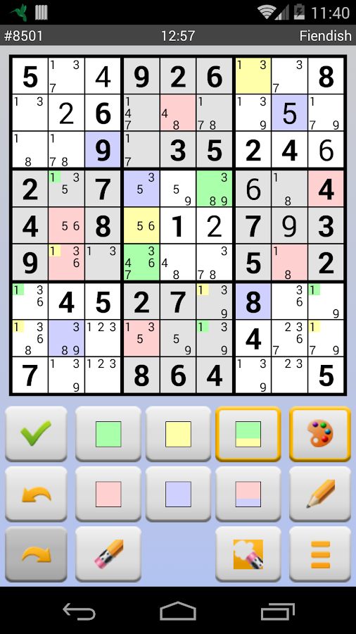 Sudoku 10'000 Free - screenshot