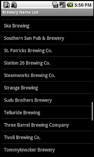 Colorado Brewery Finder Phones- screenshot thumbnail