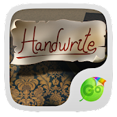 Handwrite GO Keyboard Theme
