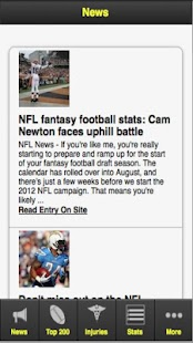 Fantasy Football '12 - screenshot thumbnail