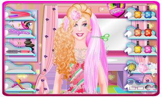 Screenshot of Princess Hairstyle Salon