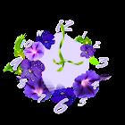 Flowers Analog Clock Widget icon