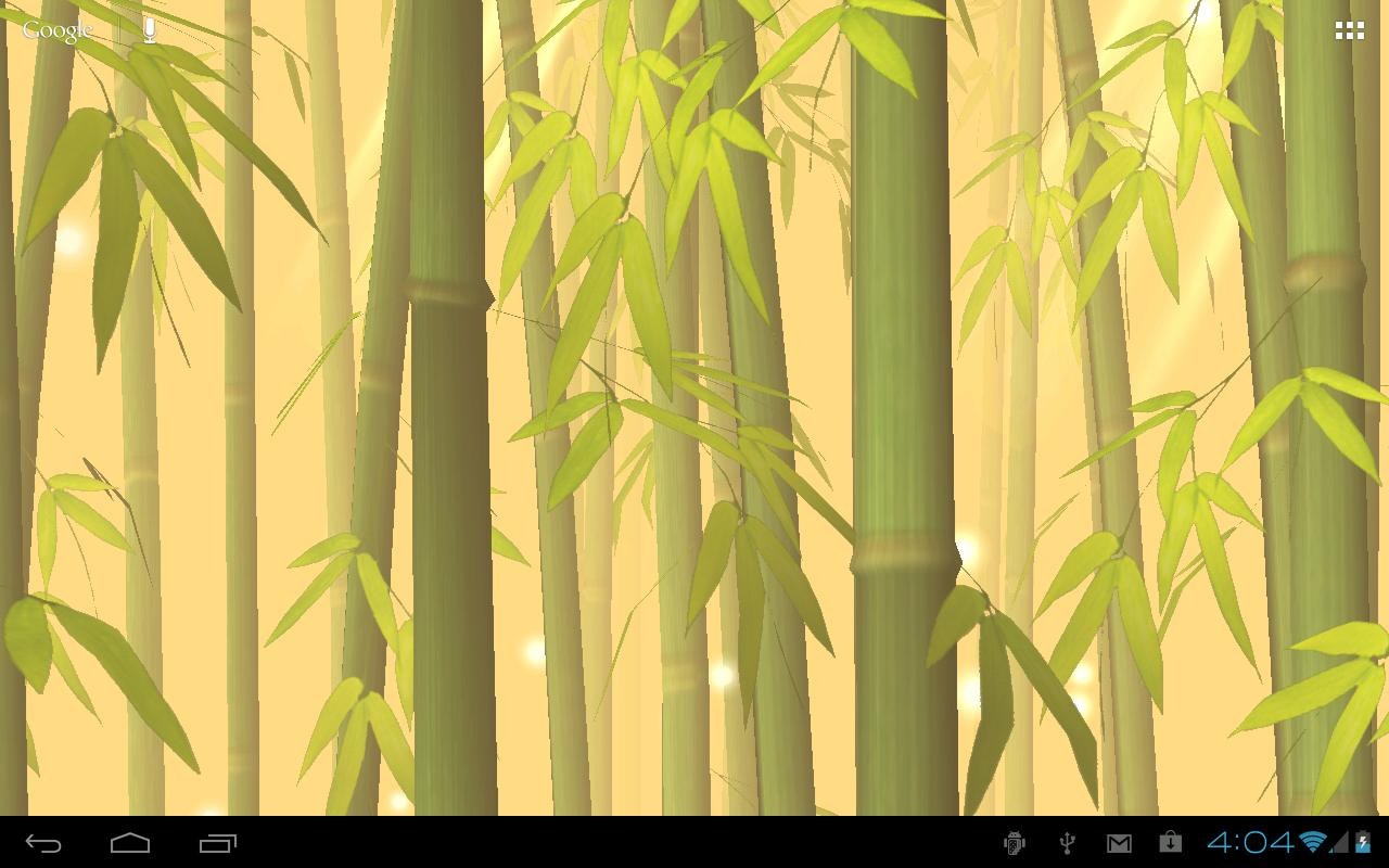 Bamboo forest live wallpaper android apps on google play for Bamboo forest mural wallpaper