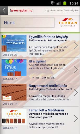 Terrán Mobil App