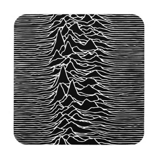 Unknown Pleasures LOGO-APP點子