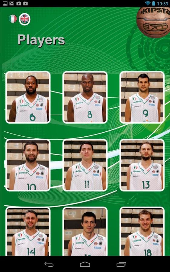 MensSana Basket 2012-2013- screenshot