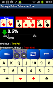 Poker Odds Calculator Free - screenshot thumbnail