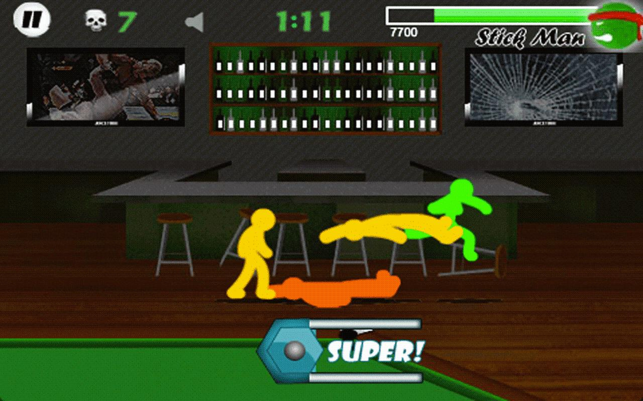 Stickman Fighter- screenshot