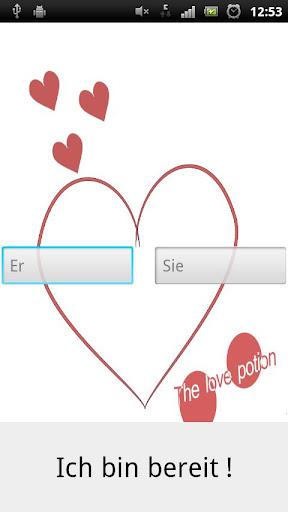 Liebestest love test
