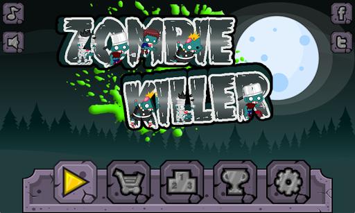 Zombie killer - Platform game