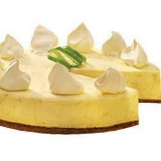 Philadelphia Key Lime Cheesecake.