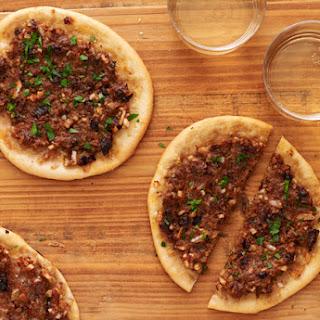 Individual Moroccan Pizzas