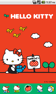 Hello Kitty My Tomatoes Theme