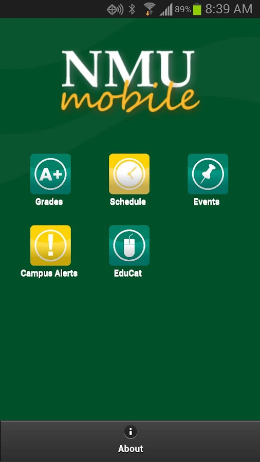 NMU Mobile - screenshot