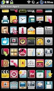 Icon App 6 ADW/OH/DVR/CP screenshot