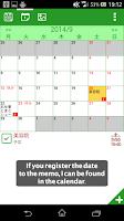 Screenshot of Memogaki (memo pad like todo)