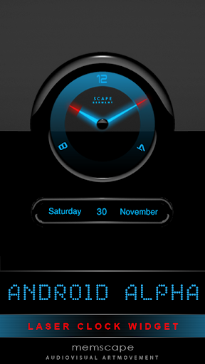Laser Clock ANDROID ALPHA