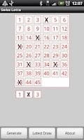 Screenshot of Swiss Lotto