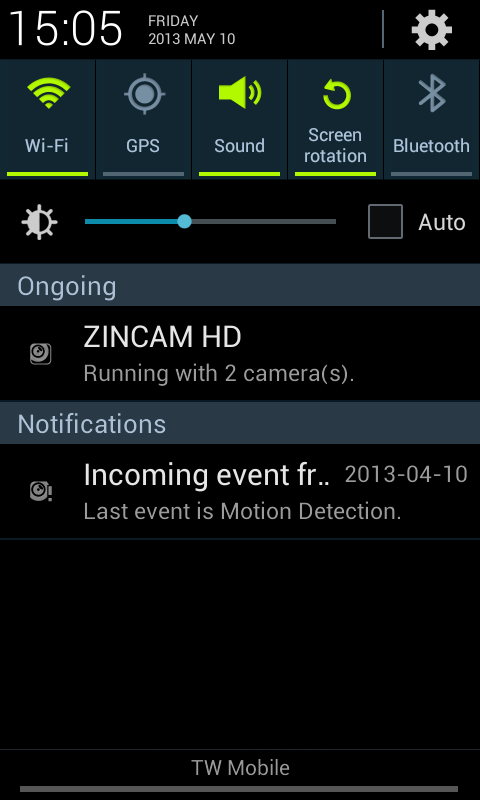 ZINCAM HD - screenshot