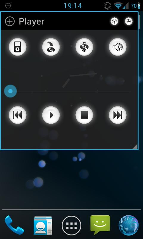Floating Audio Player - screenshot