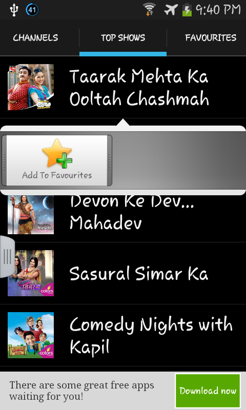 Hindi TV Serials and Shows - screenshot