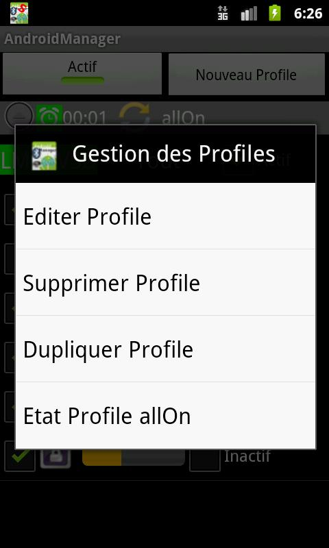 AndroidManager - screenshot