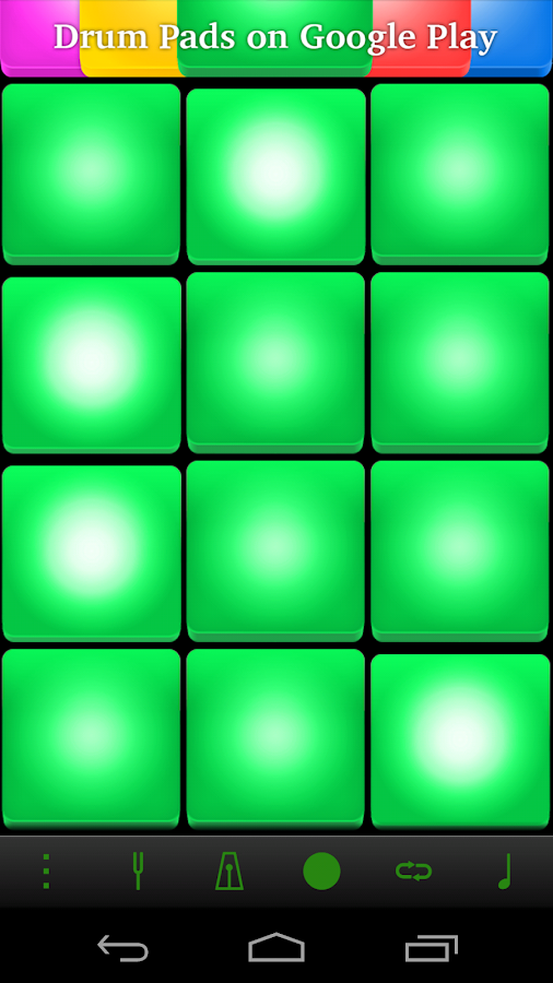Synthetic Drum Pads- screenshot