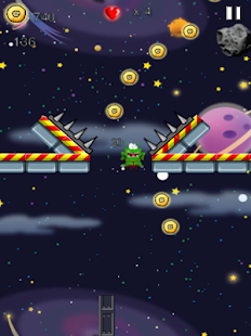 Angry Alien Space Rush Wars