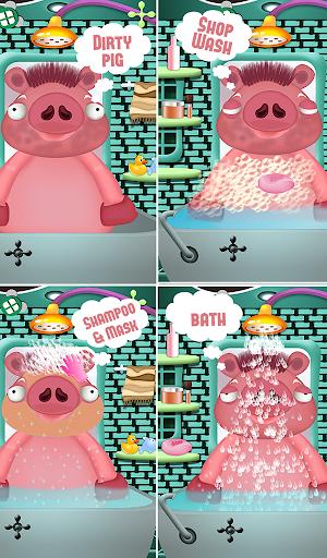豚ヘアーサロン - 楽しいゲーム