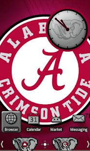 Alabama Crimson Tide Theme - screenshot thumbnail
