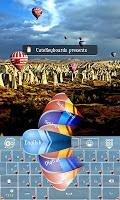 Screenshot of Air Balloon GO Keyboard