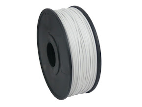White ABS Filament - 3.00mm