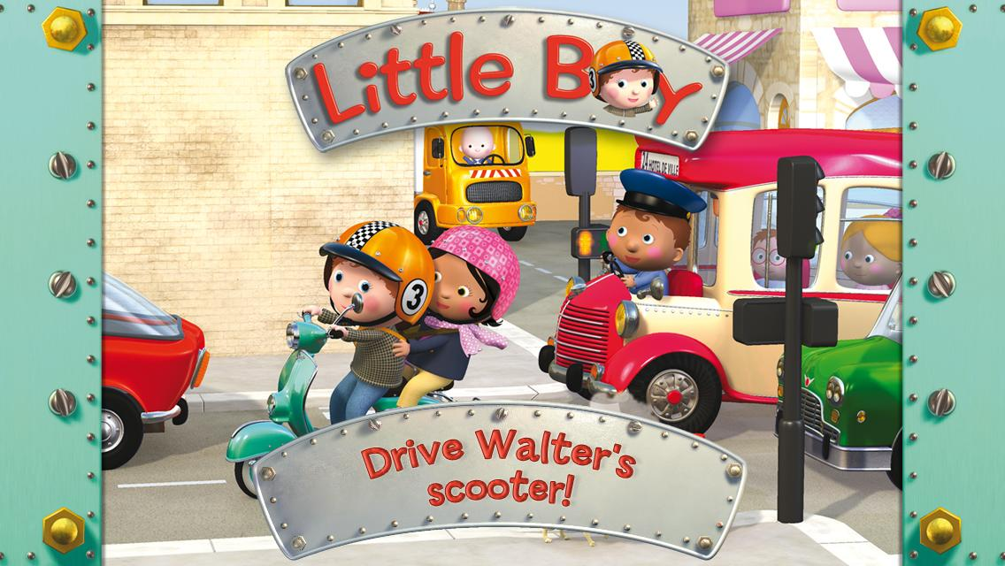 Walter's scooter - screenshot