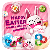 Happy Easter GO Launcher Theme