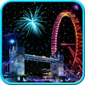 firework london Live Wallpaper icon
