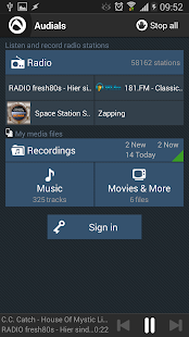 Audials Radio - screenshot thumbnail