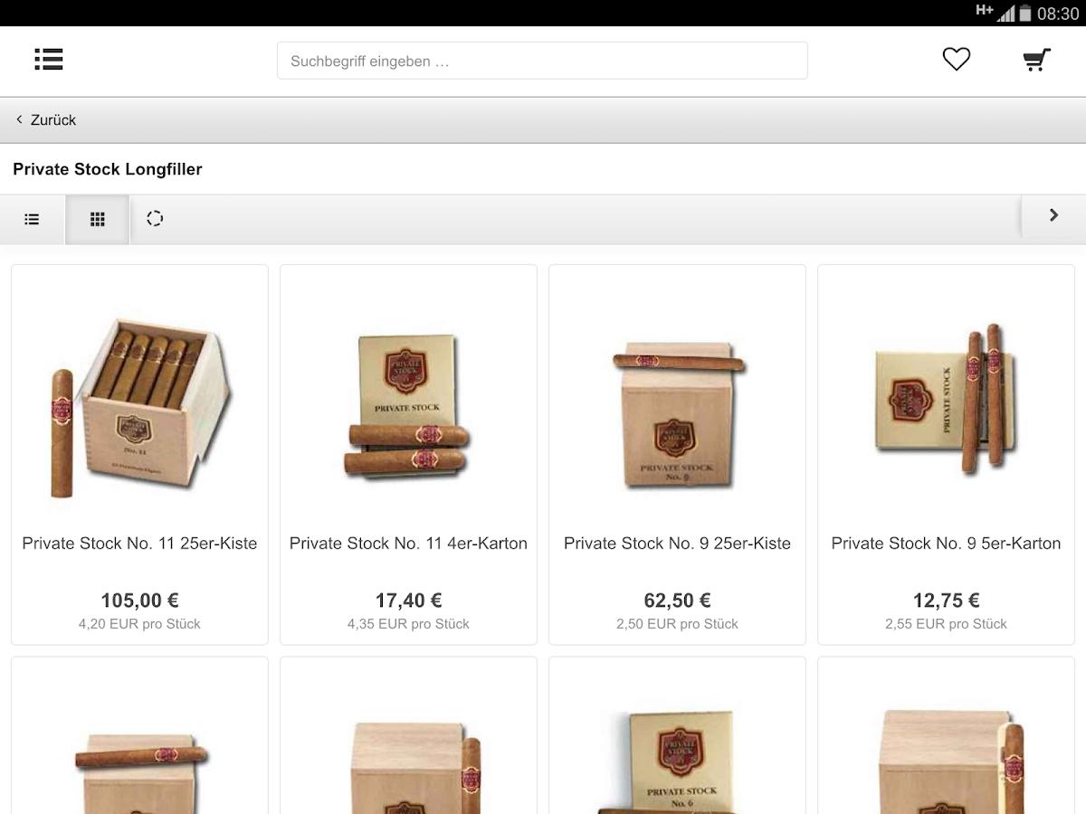 StarkeZigarren - screenshot