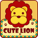 Cute Lion GO LauncherEX Theme logo