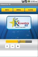Screenshot of KKountry 95