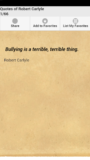 Quotes of Robert Carlyle