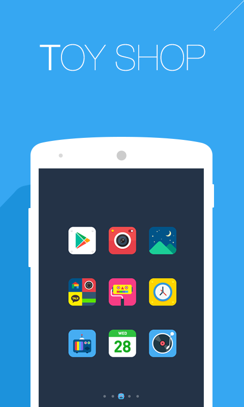 Toyshop dodol theme - screenshot