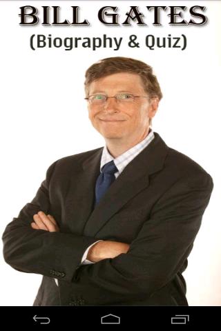 Bill Gates Biography Quiz