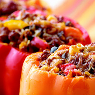Beefy Stuffed Peppers