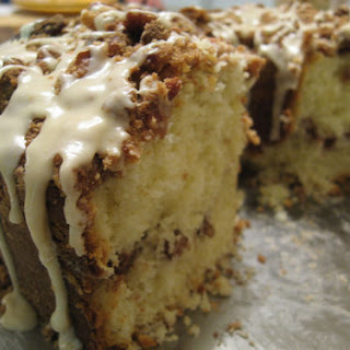 Delightfully Moist Coffee Cake With Sour Cream.