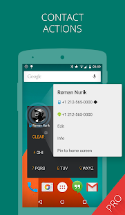 AppDialer Pro search on phone - screenshot thumbnail