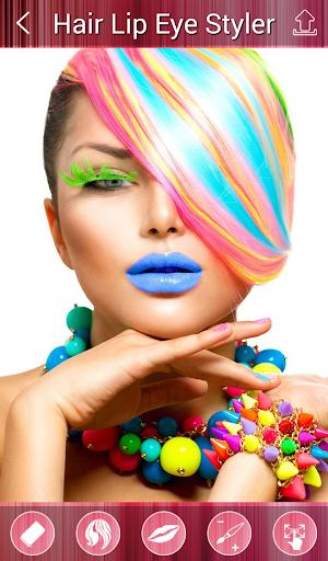 Hair Lip Eye Color Changer