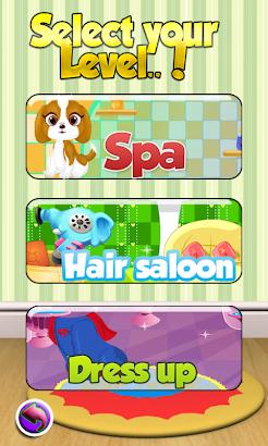 Pet Hair Salon Girl Games screenshot