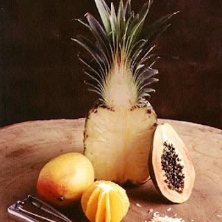 Mandarin Fruit Sundae.